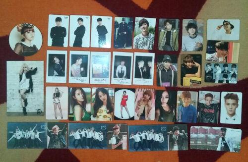 VARIOUS Group photocard kpop exo ikon snsd twice IOI vixx bts got7 sistar btob