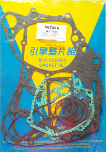 Suzuki RM125 RM125 2004 2005 2006 2007 2008 2009 Full Gasket Kit