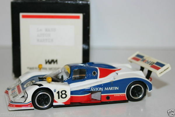 WESTERN MODELS 1 43 SCALE - ASTON MARTIN LE MANS - CALLAWAY -