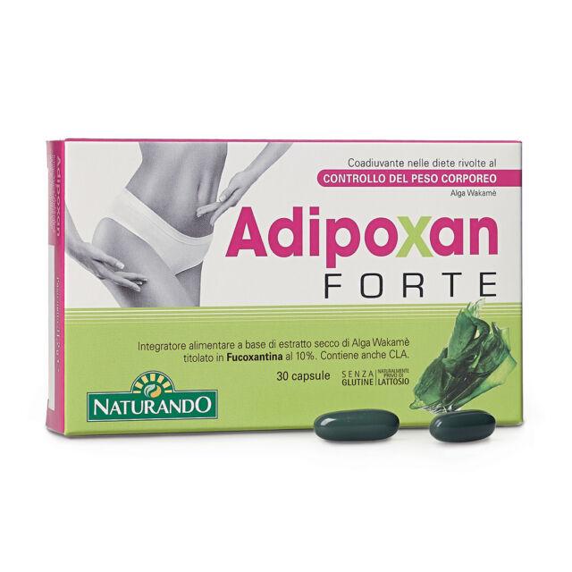 Adipoxan Forte NATURANDO integratore aliment 30 capsule Pancia Piatta Dimagrante