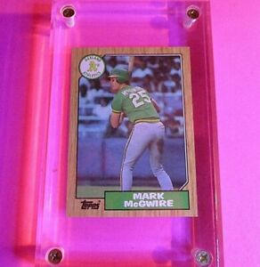 1987-Topps-366-Mark-McGwire-Rookie-Card-Oakland-Athletics-NM-NrMt-RC
