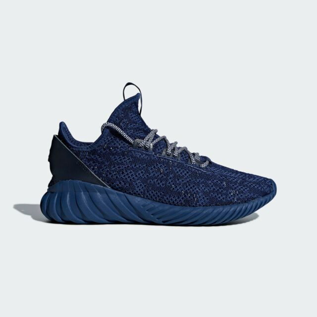 Buy adidas Tubular Doom Sock Primeknit Mens Cq0942 Noble Indigo Blue ... 82c9fcfa7