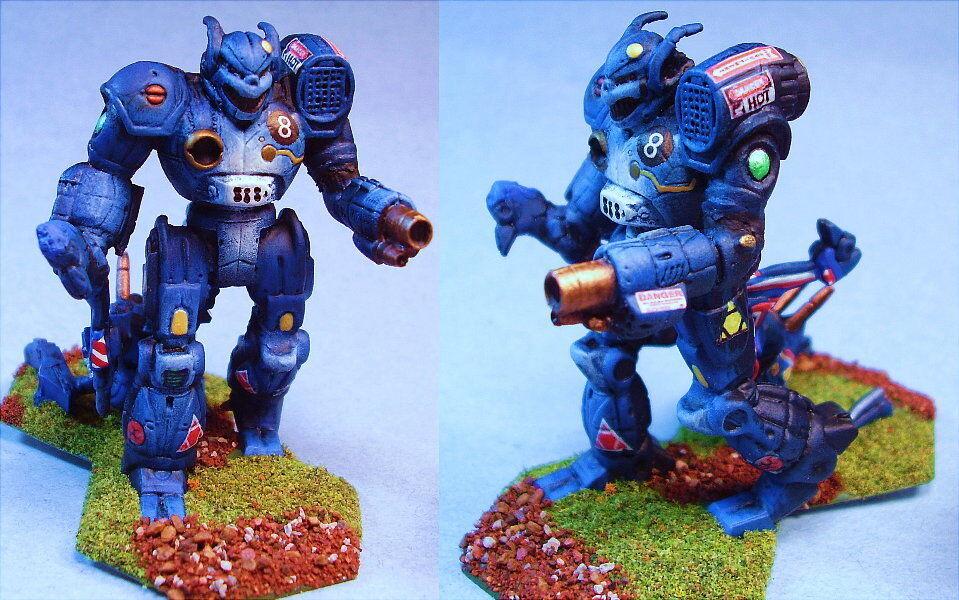 Battletech Pintado Akuma battlemech wice