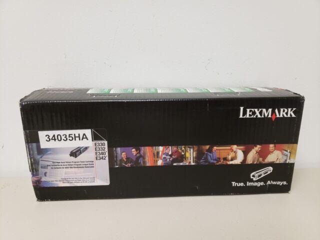 Lexmark Toner Cartridge 34035HA Genuine E330 E332 E340 E342