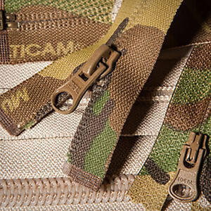 No 5 Chain Original Crye Multicam IR Zipper ( Military Webbing MTP