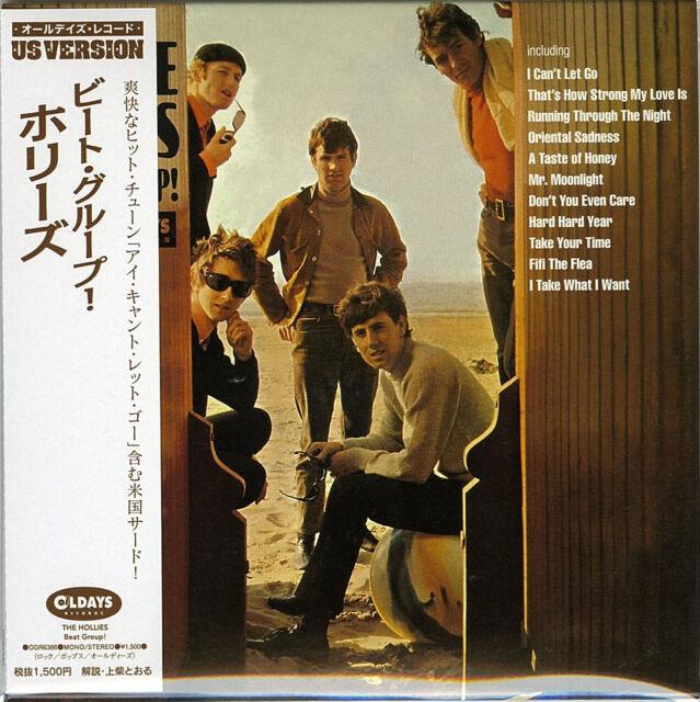 HOLLIES-BEAT GROUP!-JAPAN MINI LP CD BONUS TRACK C94