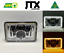 JTX-1-Pair-Chrome-LED-Headlights-4x6-034-White-Halo-Flashes-Amber thumbnail 1