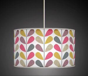 Vastago-de-Flor-Floral-Multicolor-Hecho-a-mano-impreso-fabricceiling-pantalla-de-luz-609