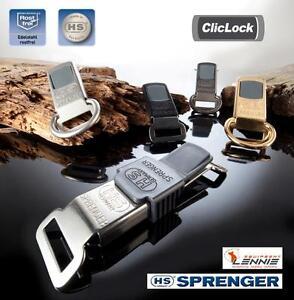 ClicLock-Verschluss-HS-Sprenger-Edelstahl-mit-ohne-D-Ring-Jacket-Klickverschluss