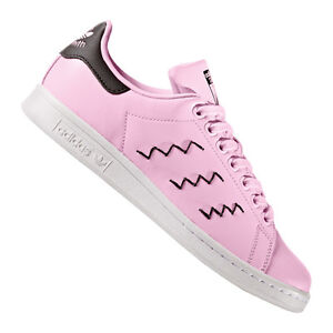 Smith Originals Adidas Rosa Mujer Negro Stan xqw0W6HnF