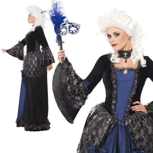 Femmes Baroque Beauté Masquerade Costume Halloween Femmes Fancy Dress Outfit NEUF