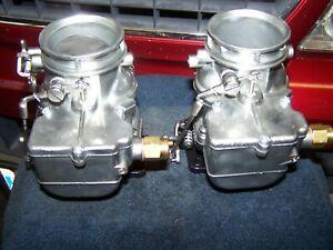 Vintage Ford Carburetor,Rat Rod,Flathead,Pair of Stromberg 97