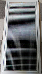 Details about Return Air Grille Filter Hinged Egg Crate Kit Ducted Heating  Air Con 1150x550mm