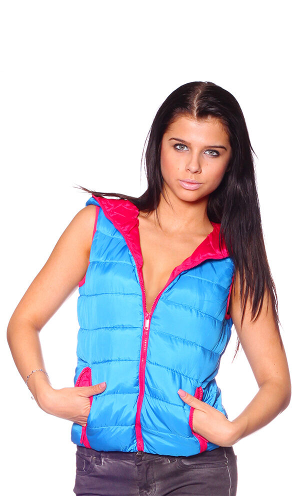 Yes Pink New Woman's puffer vest  Available in 5 5 5 colors  327857