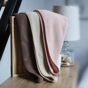 Super Absorbent Hair Drying Towel Turban Bathing Cap Bathrobe Hat Head Wrap GIFT