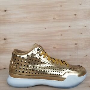 2539091c024f NIKE KOBE X 10 EXT MID LIQUID GOLD BASKETBALL SHOES  802366 700 ...