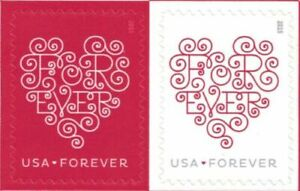 300 (15 Sheets of 20) Stamps USPS Forever Love Hearts First Class Postage Stamp