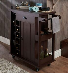 Bon Image Is Loading Rustic Wine Cart Pub Bar Server Liquor Storage