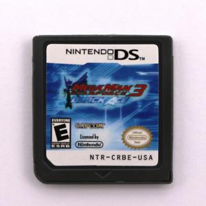 Mega Man Star Force3-Black Ace Game Card for Nintendo Ds Ndsi 3Ds Christmas Gift