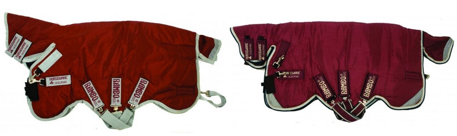 HORSEWARE RAMBO PLUS ALL IN ONE HEAVYWEIGHT 370g COMBO HORSE TURNOUT RUG