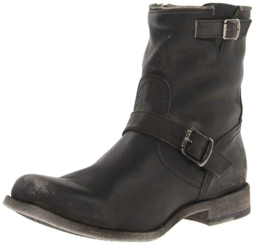 FRYE Men's Smith Engineer Boot, 87078-black, Size