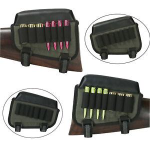 Tourbon-Tactical-Rifle-amp-Shotgun-Ammo-Pouch-Holder-Cheek-Rest-Buttstock-Right-Left