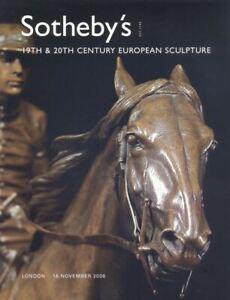 Sotheby-039-s-Catalogue-19th-amp-20th-Century-European-Sculpture-2006-HB