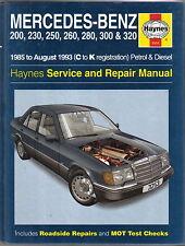 Mercedes Benz 200 Series 1985-Aug.1993 (C to K reg) Haynes Repair Manual