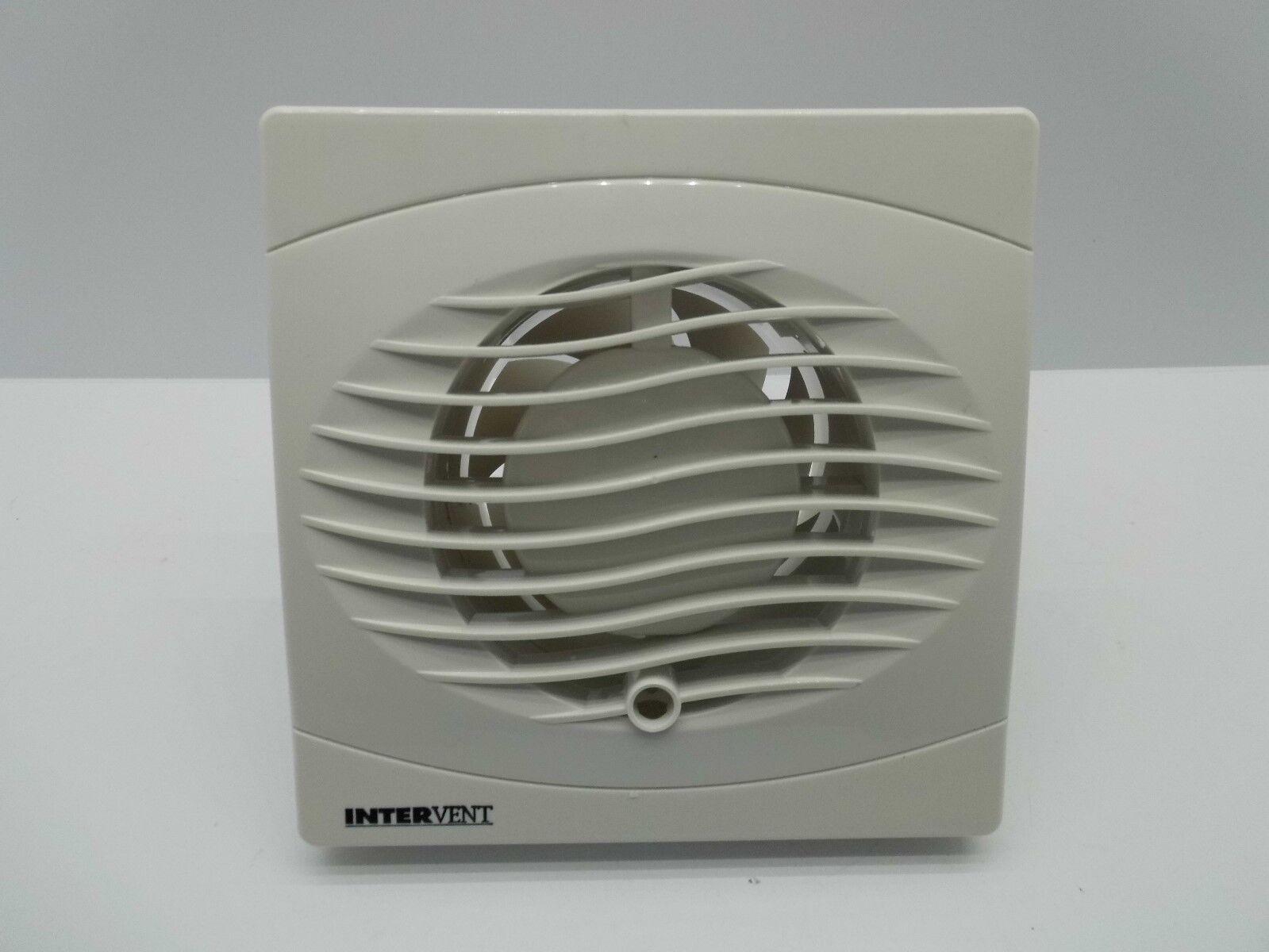 Manrose Intervent bvf100t Ventilador Extractor con temporizador//–/4/Inch//100/mm