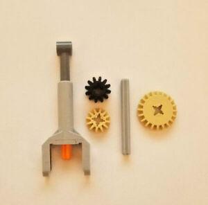 LEGO Technic MINI LINEAR ACTUATOR Piston cylinder Grey Orange Part 92693c01 ev3