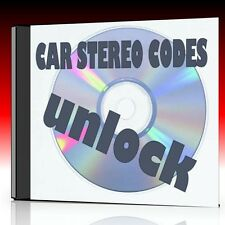 CAR RADIO/STEREO/AUDIO CODE RECOVERY SOLUTIONS ON CD FORD CLARION BLAUPUNKT NEW