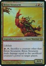 MAGIC BRION STOUTARM FOIL OVERSIZED CARD - COMMANDER'S ARSENAL LIMITED EDITION