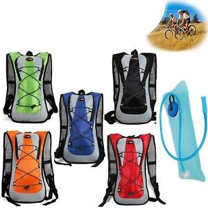 New-Airflow-Hydration-Camel-Backpack-Bladder-Bag-Cycling-Hiking-Camping-Pack-2L
