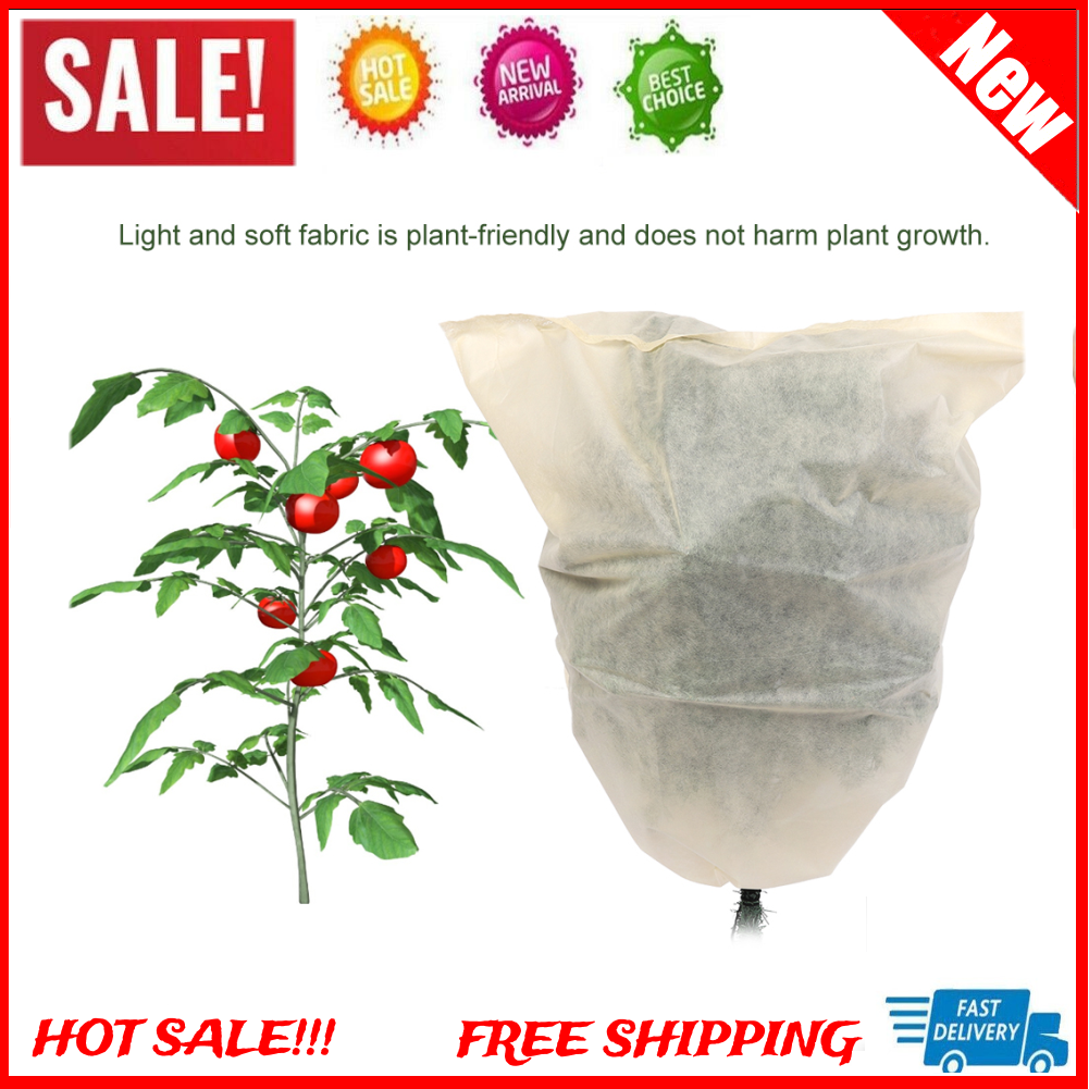3pcs Protection Plant Cover Shrubs Frost Blanket Flowers Trees Protection Bag