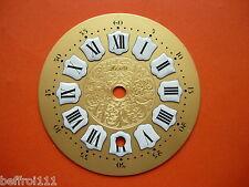 Cadran a cartouche pendule Zenith horloge Zifferblatt Uhr Clock 11 cm dial N1