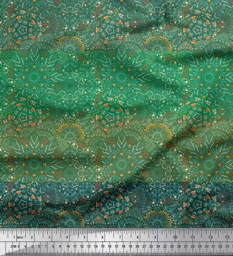 KS-8E Soimoi Stoff Streifen /& Mandala Kaleidoskop Meterware bedrucken