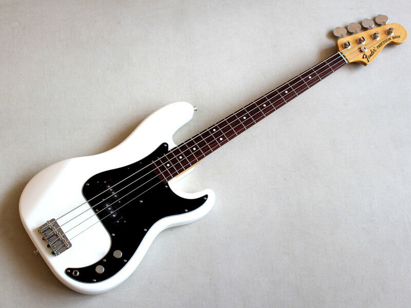 Fender Japan Exclusive CLASSIC '70S P BASS Olympic Weiß Free Shipping E.Bass