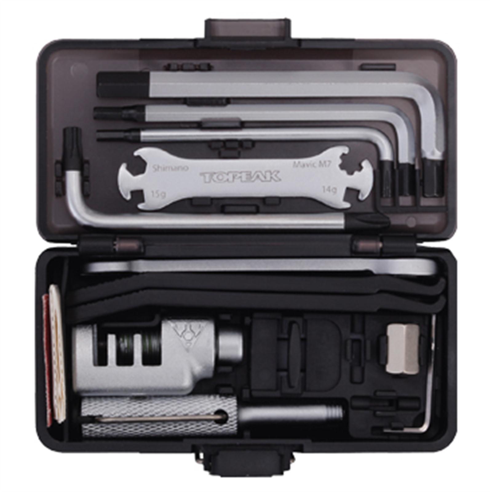 Topeak Survival Gear Box Werkzeug Koffer Mini Werkzeug SET 23 Funktionen robust