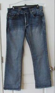 Axel-Aspetuck-Slim-Boot-Cut-Denim-Jeans-Men-039-s-Waist-Sz-32-36-NWT-MPRP-59