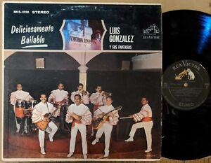 LATIN-LP-LUIS-GONZALEZ-Y-SU-FANTASIAS-Deliciosamente-Bailable-RCA-VICTOR-1526