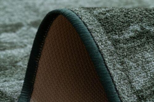 Modern Soft Slip Runner /'Sardis/' Green often Width 67-100cm