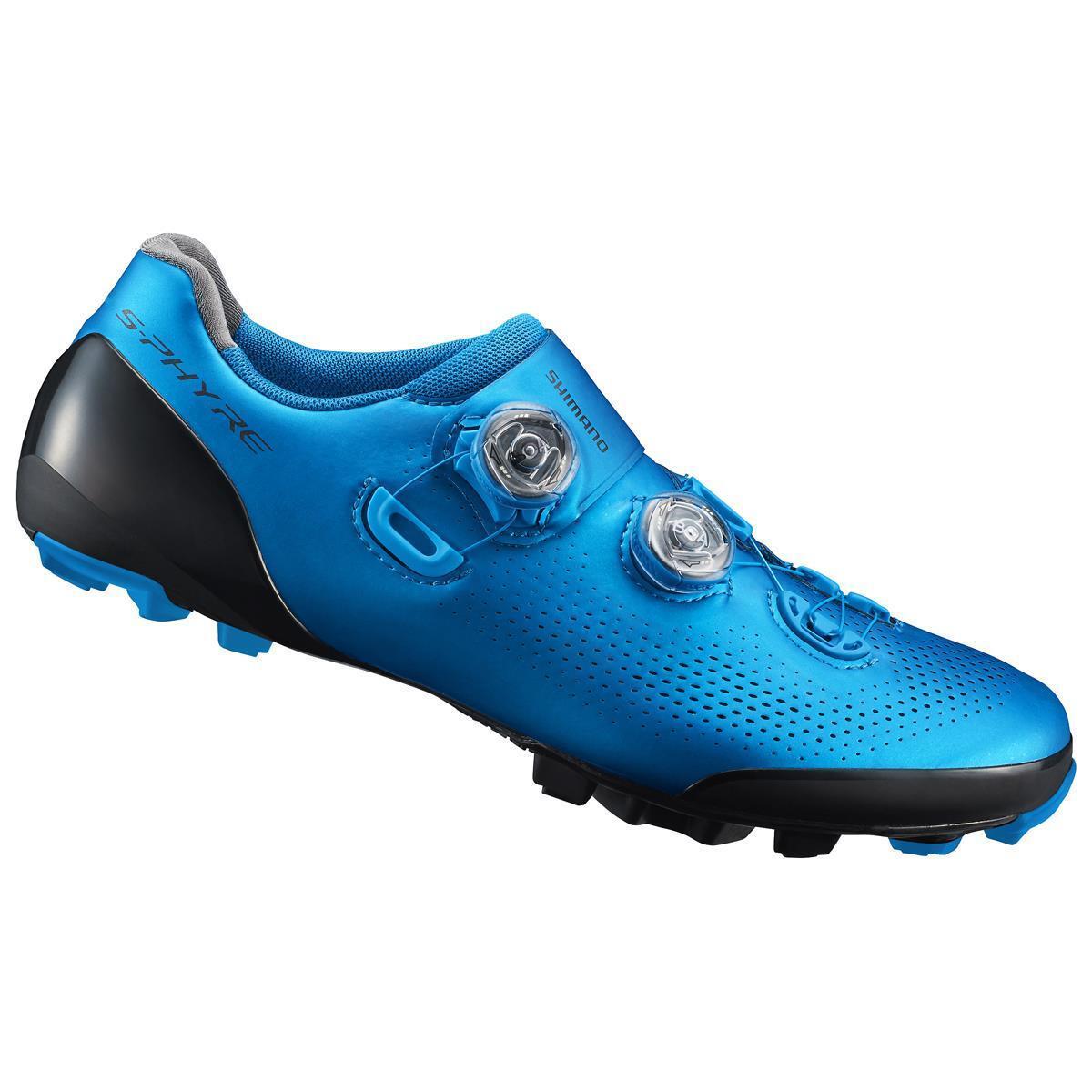 shoes mtb s-phyre xc9 sh-xc901sl1 blue 2019 SHIMANO shoes bici
