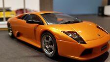 AutoArt SLOT Car 1:32 Lamborghini Murcielago Orange Lighting Lamps NEW Boxed AWD