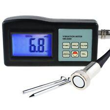 Vm6360 Vibration Meter Vibrometer Gauge Velocity Acceleration Tester Analyzer
