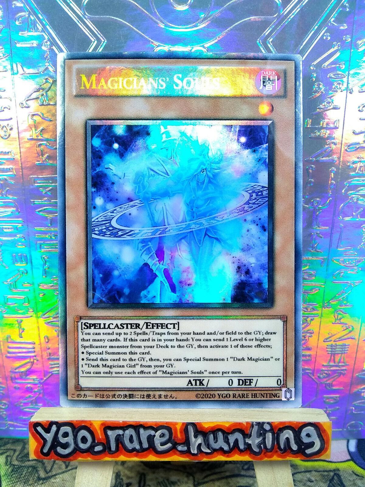 YuGiOh Magicians/' Souls LED6-EN002 Ultra Rare 1st Edition Near Mint English!!