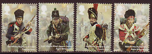 GREAT-BRITAIN-2015-BATTLE-OF-WATERLOO-SET-OF-4-UNMOUNTED-MINT-MNH