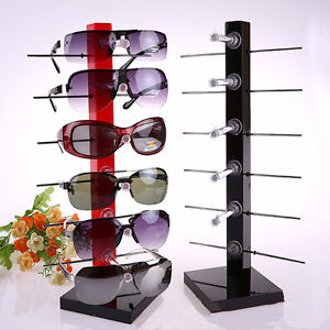 6Pair Sunglasses Eye Glasses Frame Rack StandEyewear ...
