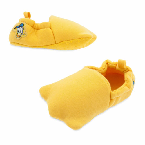 Disney Store Donald Duck Feet Baby Costume Boys Soft Slippers 6 18 24 Months