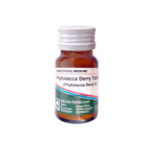 Adel Phytolacca Berry Tablets Germany 20g Homeopathic Obesity Fat