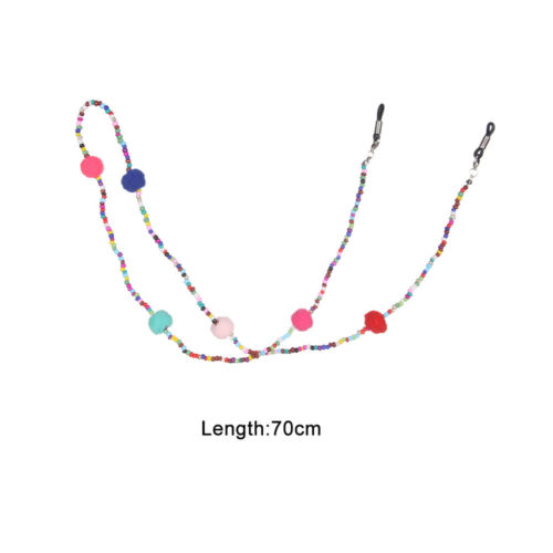 ball Beads Eyedress Lanyard Neck Strap Rope Strap Cord Holder Glasses Chain